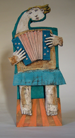 Accordian Player - Christy Keeney